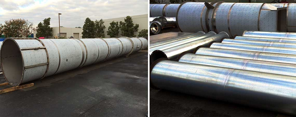 Industrial Welded Ductwork Baghouse Industrial Amp Sheet