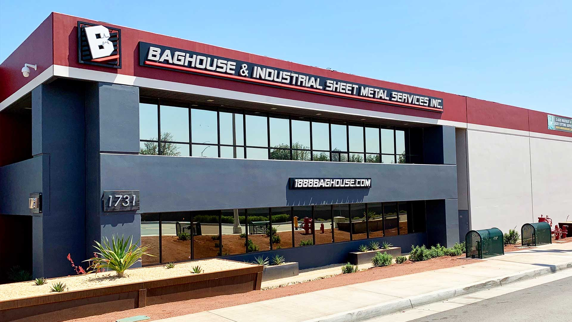 About Baghouse & Indsutrial Sheet Metal Services